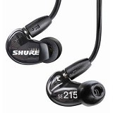 SHURE Sound Isolating Earphone [SE215-K] - Black - Earphone Ear Monitor / Iem